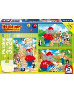 Benjamin Blümchen: Im Zoo - 3x 24 Teile