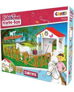 Bibi & Tina: Spiel-Set Sabrina mit Pferde-Box