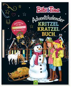 Bibi & Tina: Adventskalender Kritzel-Kratzel-Buch