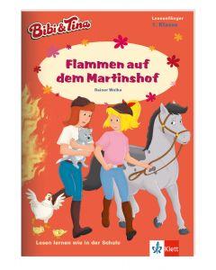 Bibi & Tina: Erstlesen 1.Klasse - Flammen auf dem Martinshof