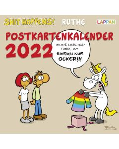 Ruthe: Shit happens! - Postkartenkalender 2022