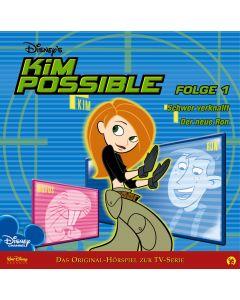 Disney Kim Possible Schwer verknallt / Der neue Ron (Folge 1)