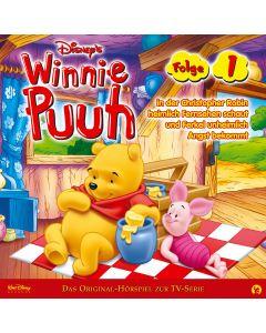 Disney Winnie Puuh Christopher Robin schaut heimlich Fernsehen/ Ferkel bekommt unheimlich Angst (Folge 1)