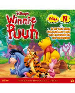 Disney Winnie Puuh Puuh spielt einen Krähenwächter und die Freunde bringen ihn auf Trab (Folge 11)