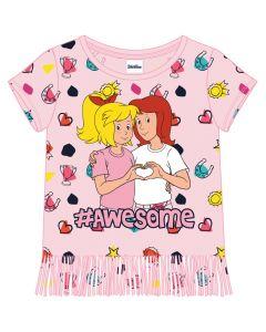 Bibi & Tina: Shirt mit Fransen (rosa)