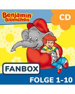 Benjamin Blümchen: 10er CD-Box 1 (Folge 1 - 10)