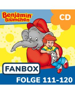 Benjamin Blümchen: 10er CD-Box 12 (Folge 111 - 120)