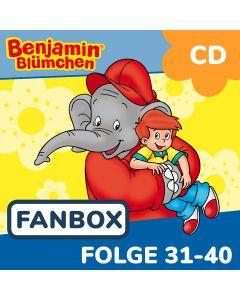 Benjamin Blümchen: 10er CD-Box 4 (Folge 31 - 40)