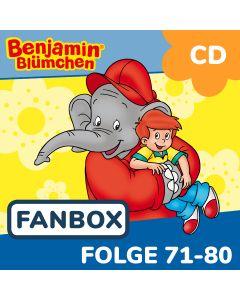 Benjamin Blümchen: 10er CD-Box 8 (Folge 71 - 80)