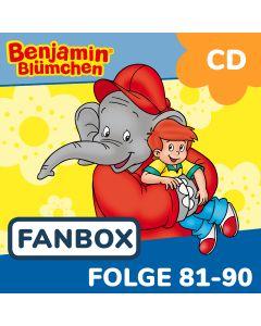Benjamin Blümchen: 10er CD-Box 9 (Folge 81 - 90)