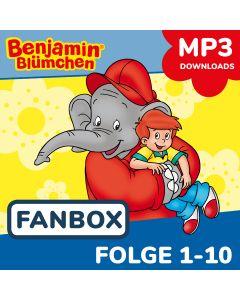Benjamin Blümchen: 10er MP3-Box 1 (Folge 1 - 10)