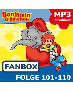 Benjamin Blümchen: 10er MP3-Box 11 (Folge 101 - 110)