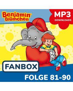 Benjamin Blümchen: 10er MP3-Box 9 (Folge 81 - 90)