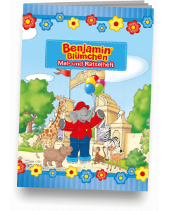 Benjamin Blümchen: Mal- und Rätselheft