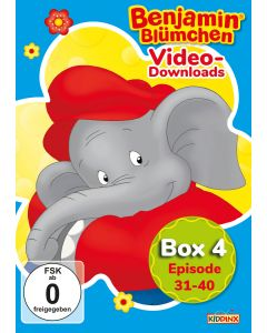 Benjamin Blümchen: 10er Video-Box 4 (Folge 31 - 40)