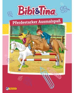 Bibi & Tina: Pferdestarker Ausmalspaß