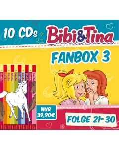 Bibi & Tina: 10er CD-Box 3 (Folge 21 - 30)