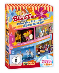 Bibi & Tina: 2er DVD-Box Pferde, Freundschaft, Abenteuer
