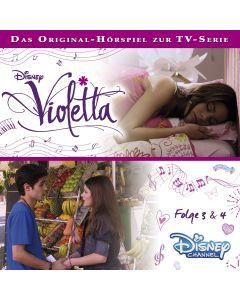 Violetta: Hörspiel zur Serie Folge 3 & 4 (Folge 3 – 4)