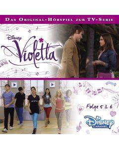 Violetta: Hörspiel zur Serie Folge 5 & 6 (Folge 5 – 6)