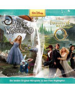 Disney: 2er MP3-Box Alice im Wunderland, Die fantastische Welt von OZ