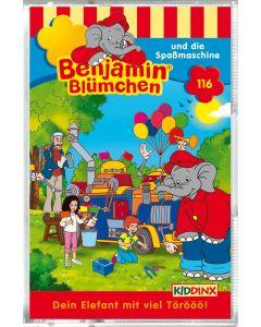 Benjamin Blümchen: Die Spaßmaschine (Folge 116/mc)