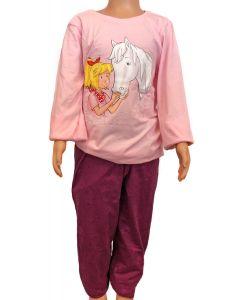 Bibi & Tina: Pyjama (rosa/lila)