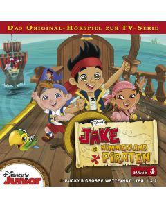 Jake und die Nimmerland-Piraten: Buckys große Wettfahrt - Teil 1 & 2 (Folge 4)