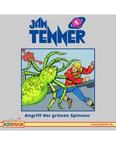 Jan Tenner: Angriff der grünen Spinnen (Folge 1)