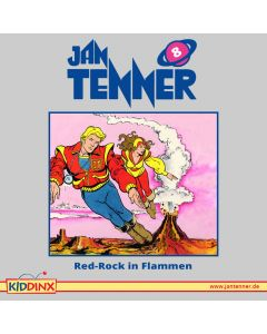 Jan Tenner: Red-Rock in Flammen (Folge 8)