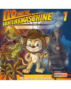 Leo und die Abenteuermaschine: Leo - Wie alles begann (Folge 1/mp3)