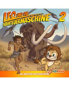 Leo und die Abenteuermaschine: Leo und das Rätsel der Wandmalerei (Folge 2/mp3)