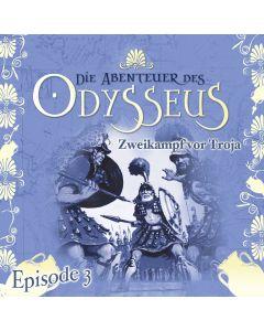 Die Abenteuer des Odysseus: Zweikampf vor Troja (Folge 3)
