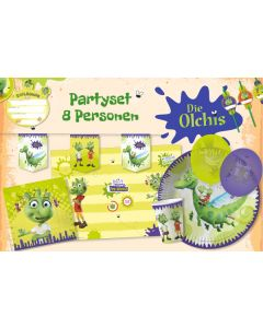 Die Olchis: Partyset für 8 Kids