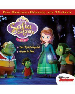 Sofia die Erste: Der Lampengeist / .. (Folge 12/mp3)