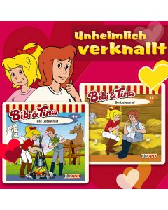 Bibi & Tina: 2er MP3-Box Unheimlich verknallt
