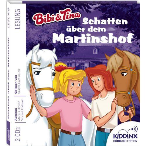bibi  tina hörbuch schatten über dem martinshof