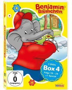 Benjamin Blümchen: 3er DVD-Box 4