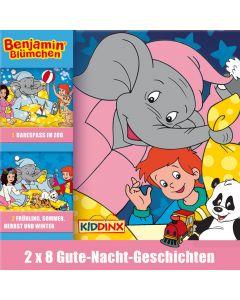 Benjamin Blümchen: 2er MP3-Box Gute-Nacht-Geschichten