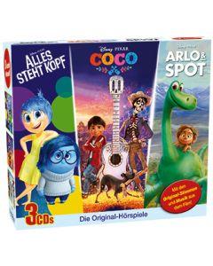 Disney: 3er-Box Alles steht Kopf, Coco, Arlo & Spot