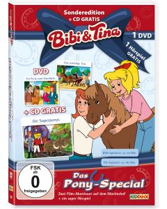 Bibi & Tina: 2er Box DVD+CD Pony-Special