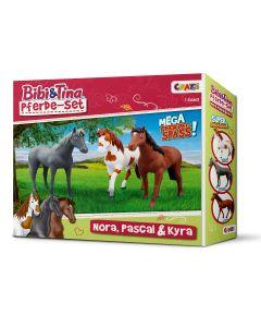 Bibi & Tina: Pferde-Set (Pascal, Nora und Topsy)