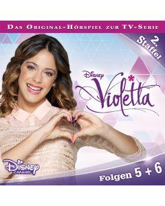 Violetta: Hörspiel zur Serie Staffel 2 Folge 5 & 6 (Folge 5 – 6)