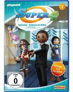 Super 4: Agent Gene - Entdecker der Welten 1-4