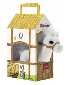 Bibi & Tina: Pferd Sabrina (17cm) im Stall (30 cm)