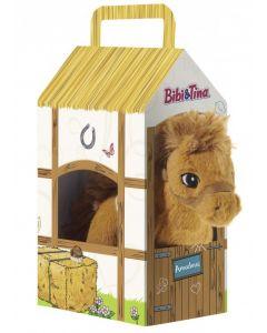 Bibi & Tina: Pferd Amadeus (17 cm) im Stall (30 cm)