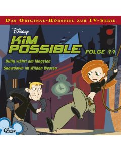 Disney Kim Possible Billig währt am längsten / Showdown im Wilden Westen (Folge 11)