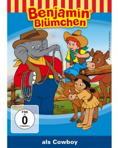 Benjamin Blümchen: als Cowboy