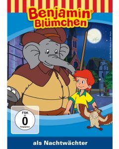 Benjamin Blümchen: als Nachtwächter