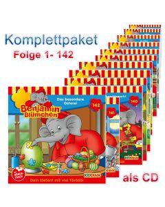Benjamin Blümchen: 142er CD-Komplett-Box (Folge 1 - 142)